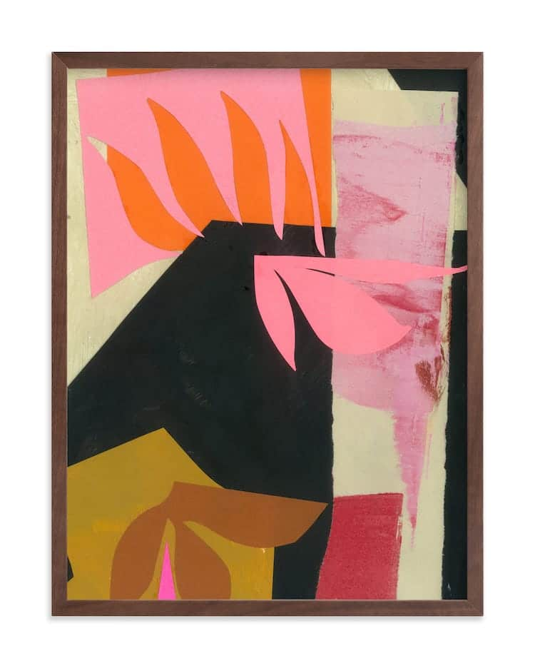 Contemporary Abstract Art on Minted
