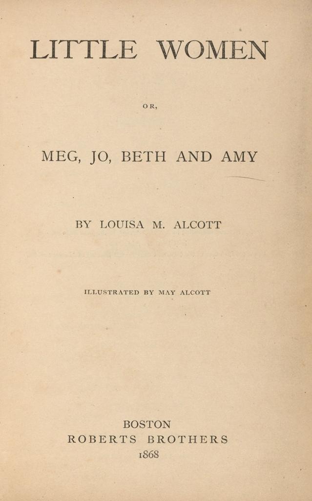 Little Women title page