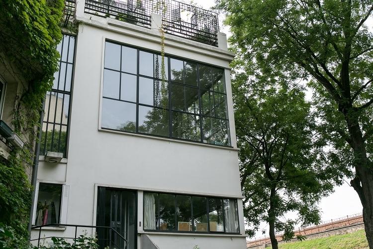 façade de la maison du peintre