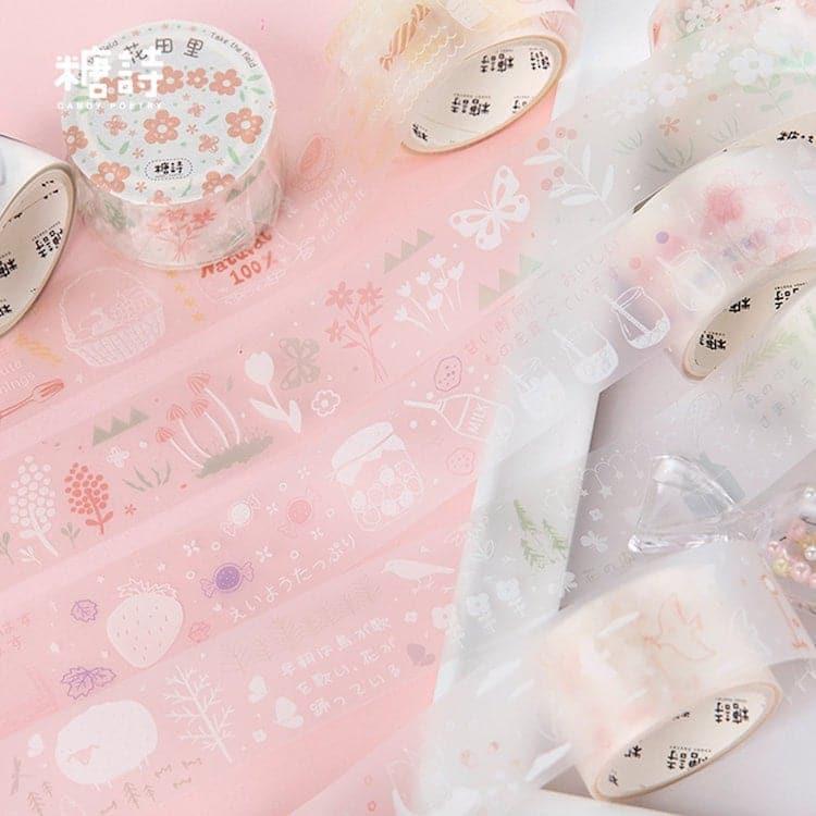 Matte Clear Washi Tape
