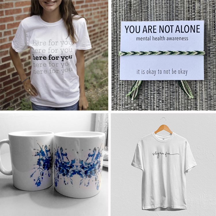 Mental health Awareness Month Gifts That Raise Funds and Awareness