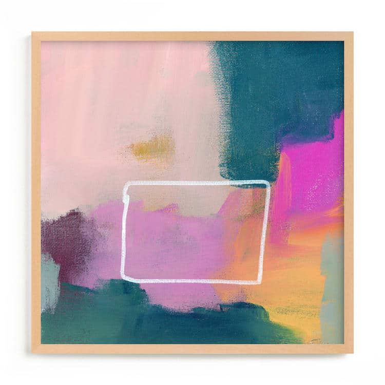 Colorful Abstract Art on Minted