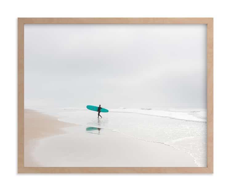 Fine Art Photograph of Surfer in California