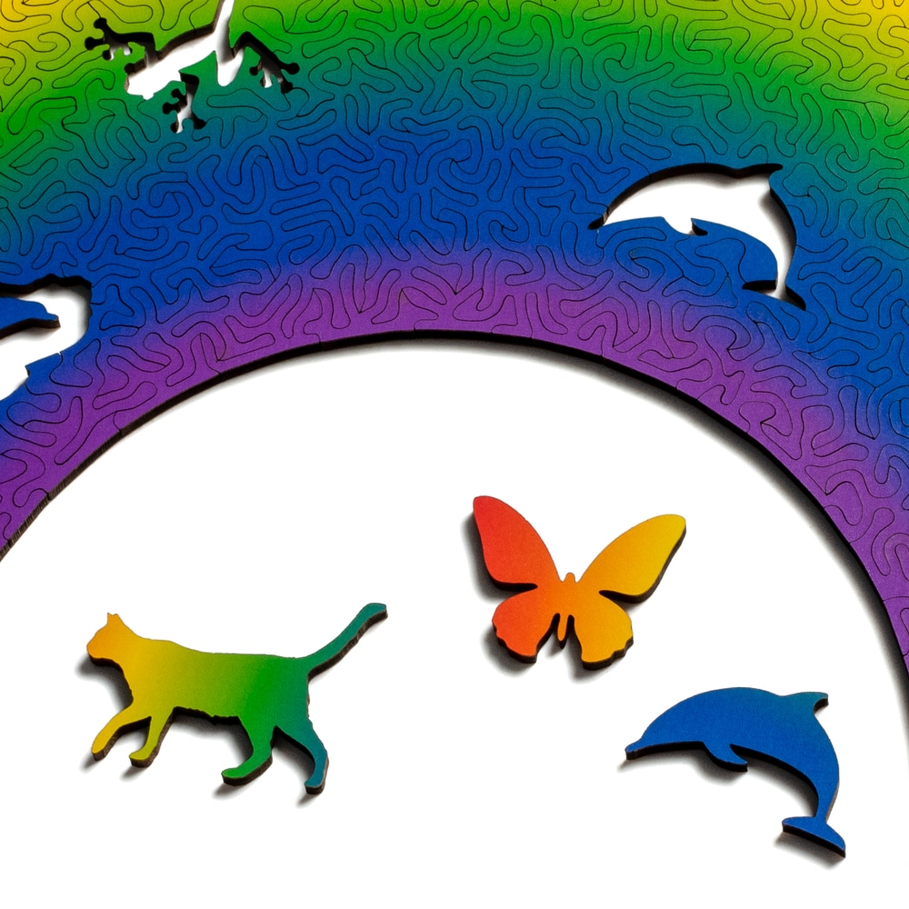 Rainbow Puzzle by Nervous System