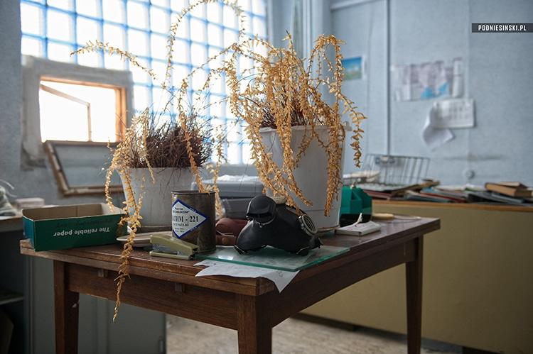An office in BK2, Chernobyl.