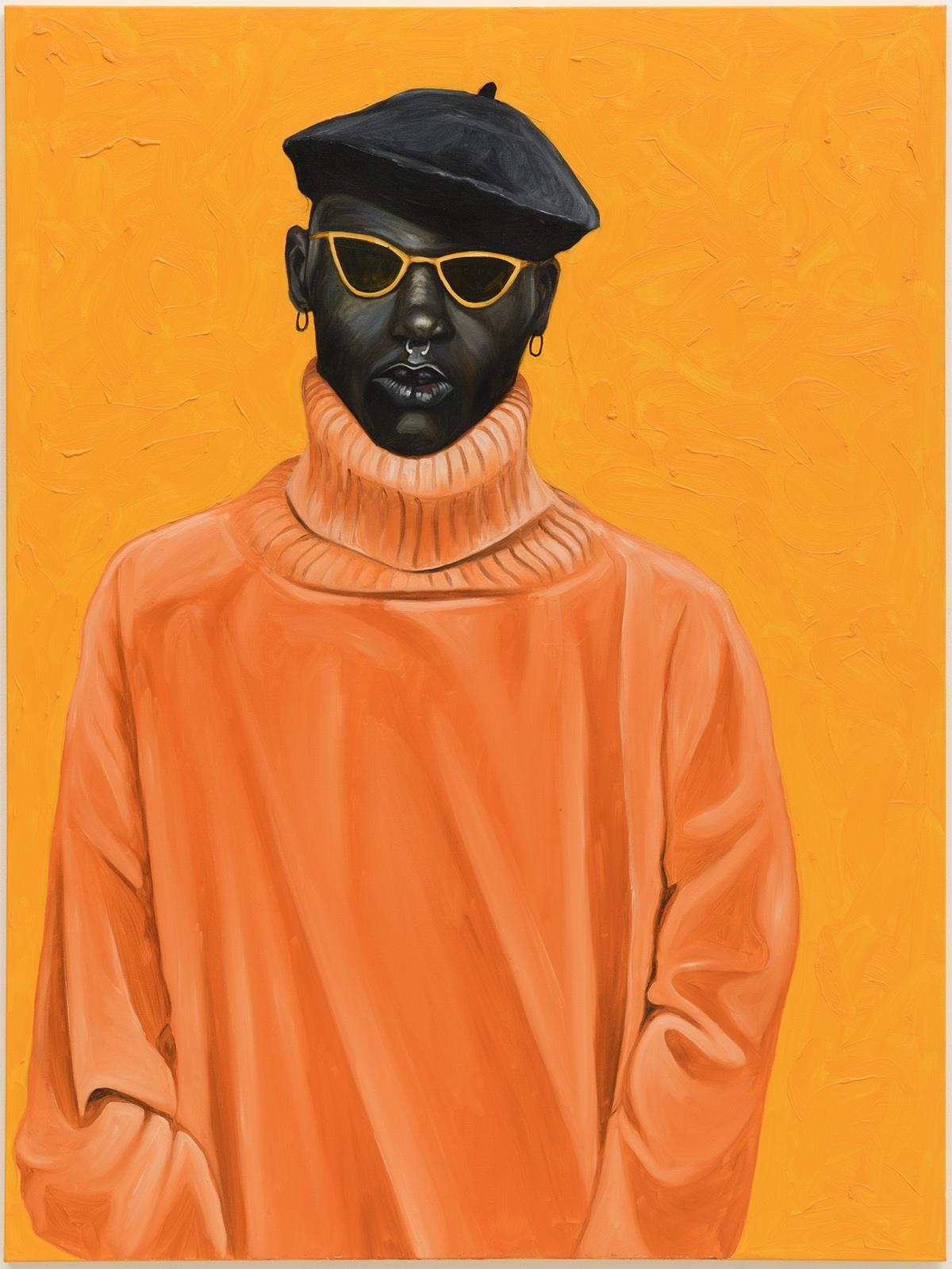 Ghanaian Artist on Being Black in America