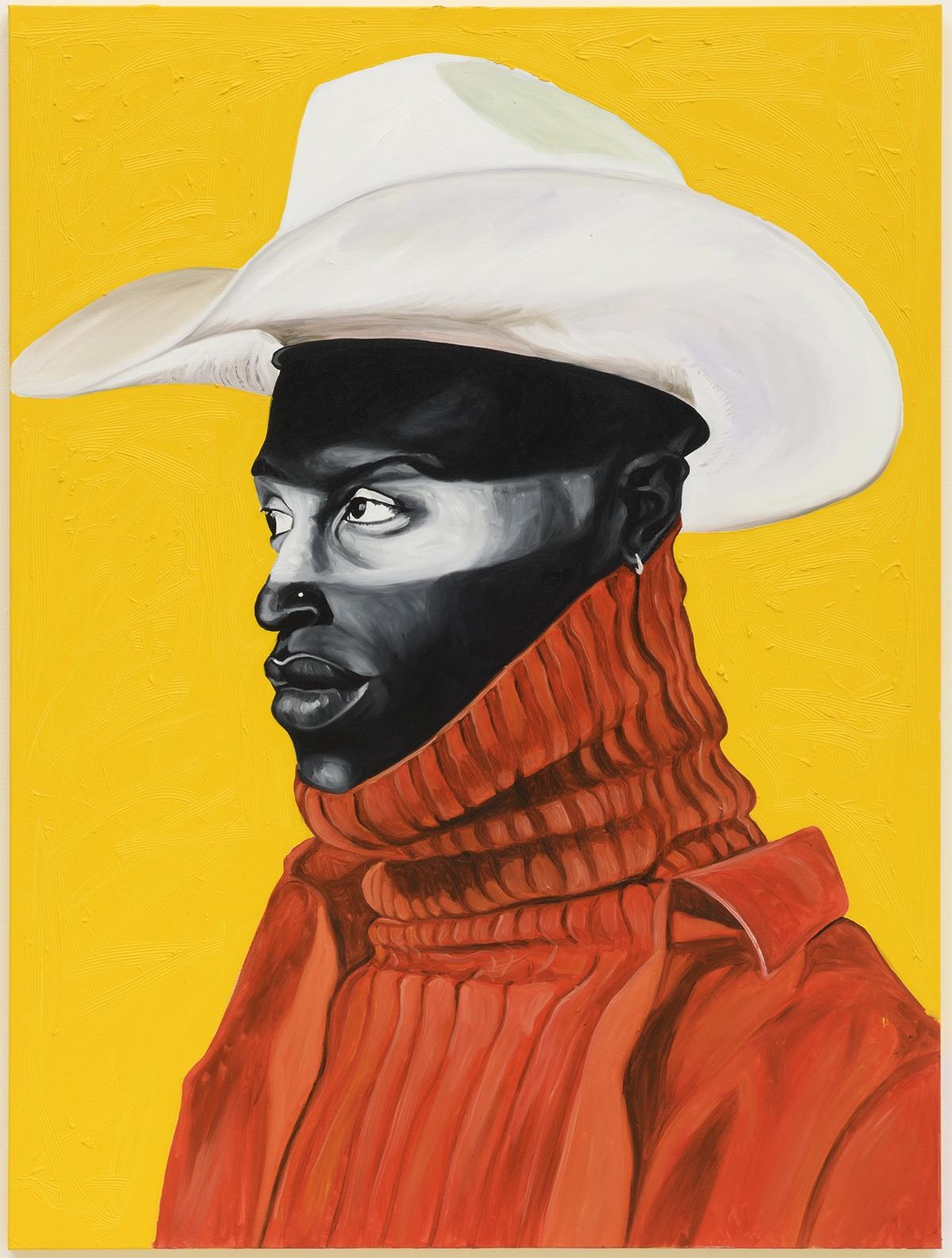 Ghanaian Artist Painting Black Cowboys