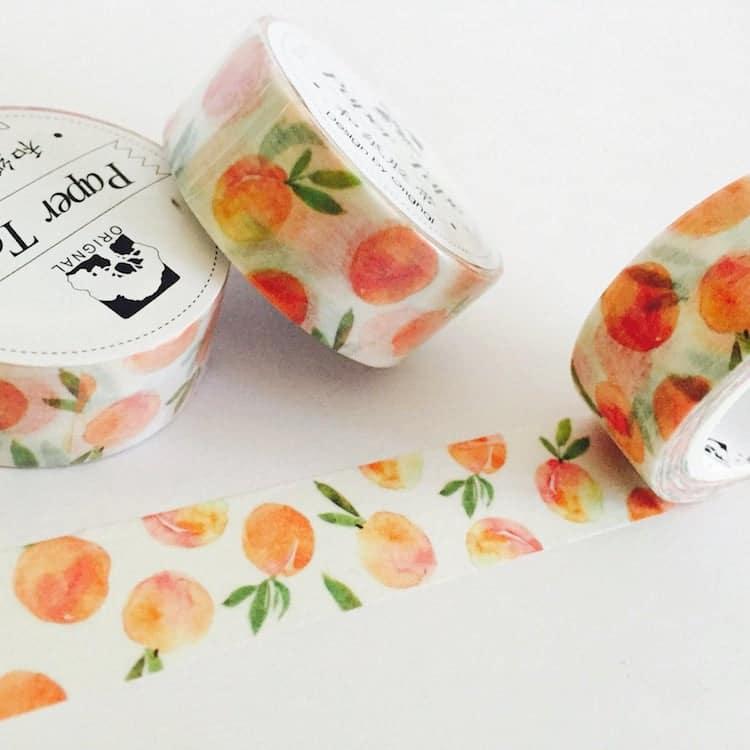Peaches Washi Tape