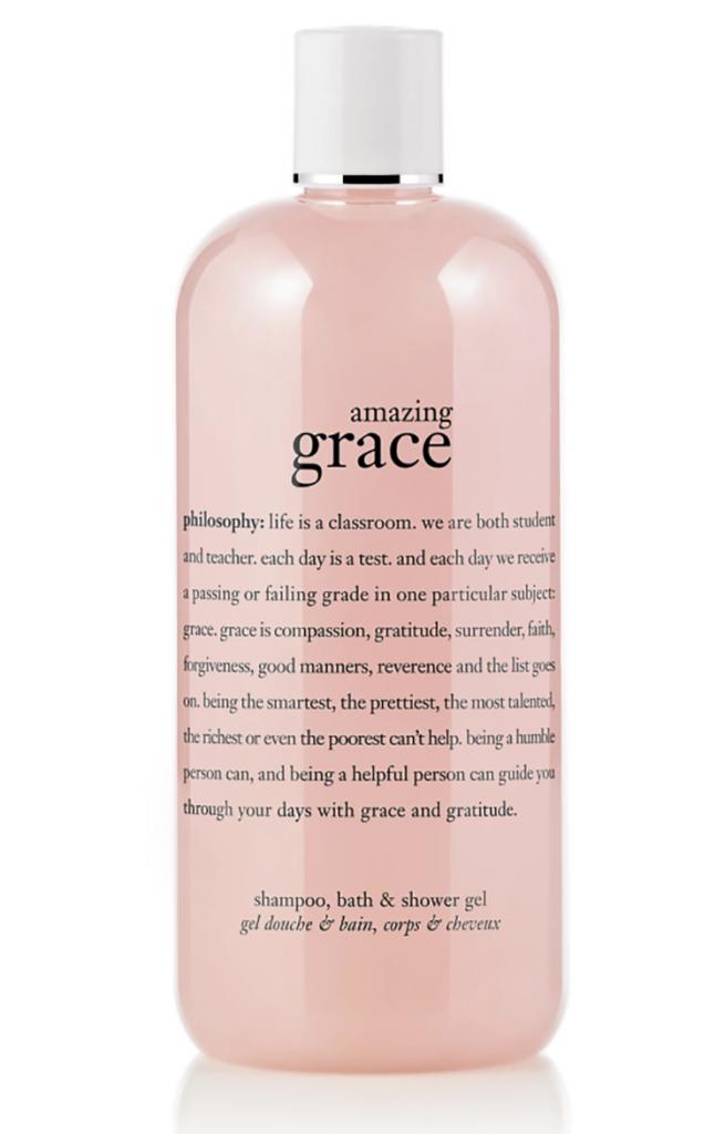 Philosophy Shampoo Bottle Amazing Grace
