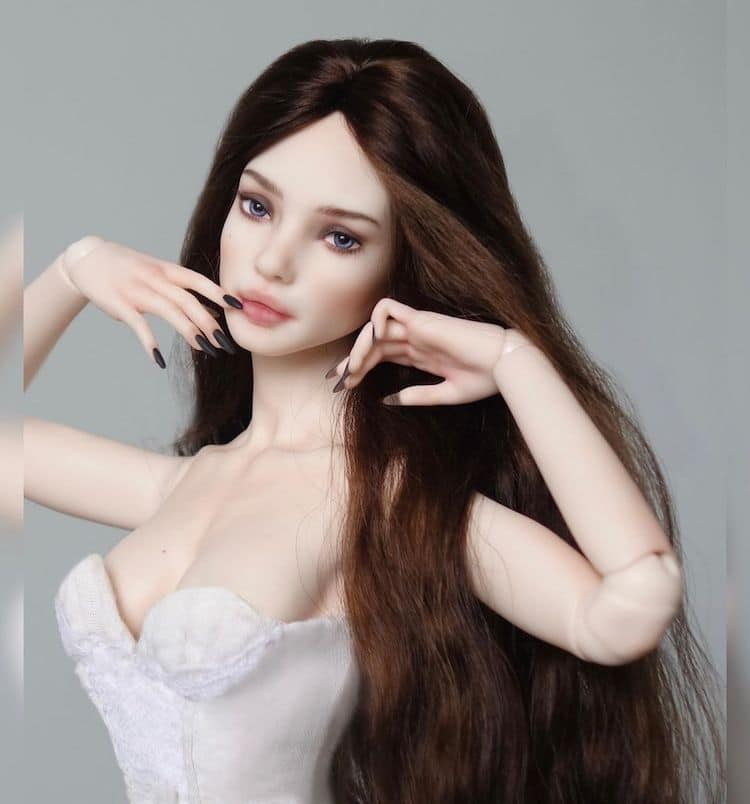 Realistic Ball Jointed Doll by Eslyn's Dolls
