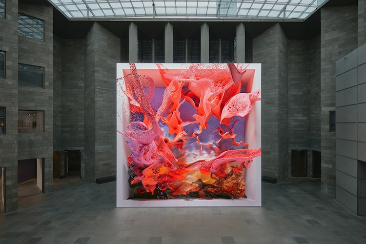 Media Artist Refik Anadol on His AI-Driven Artwork That Uses Machine Learning To Redefine Space