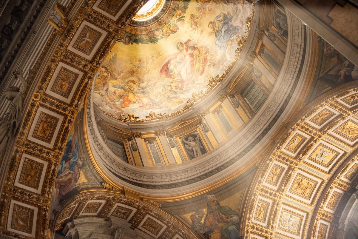 St. Peter's Basilica, a famous example of Renaissance Architecture