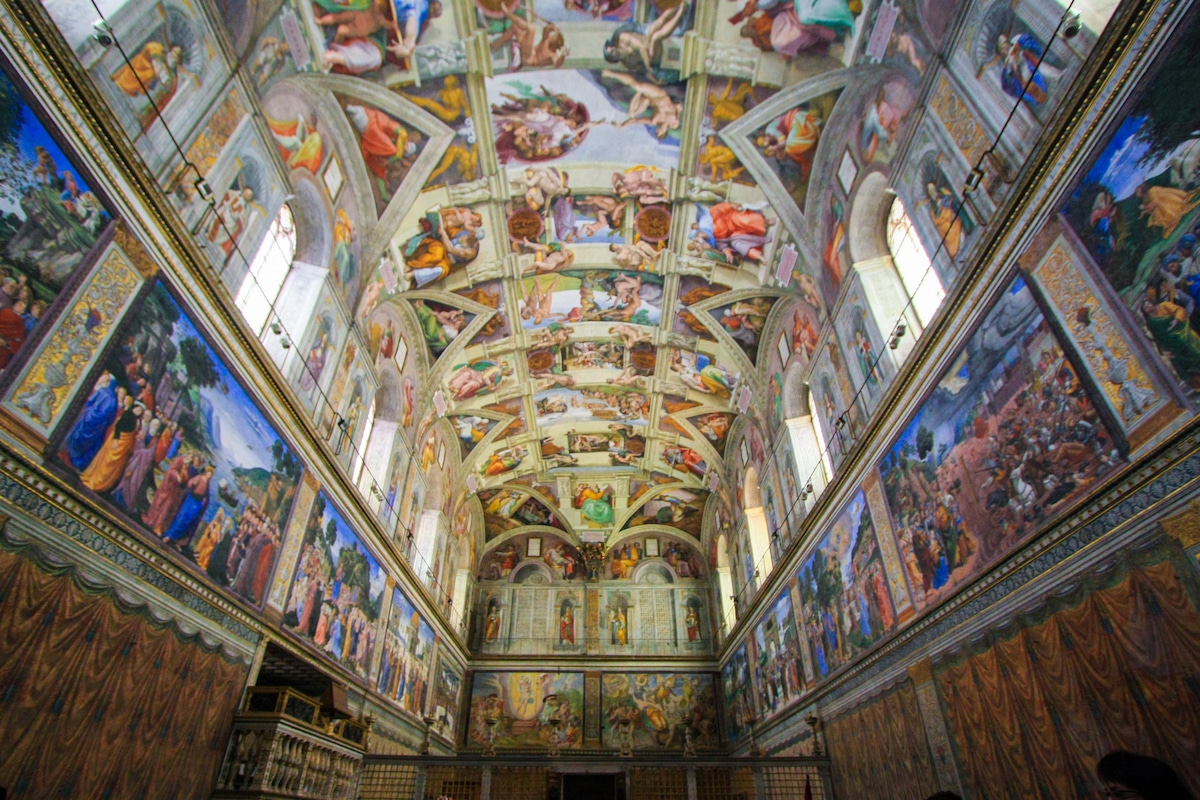 The Sistine Chapel, a famous example of Renaissance Architecture