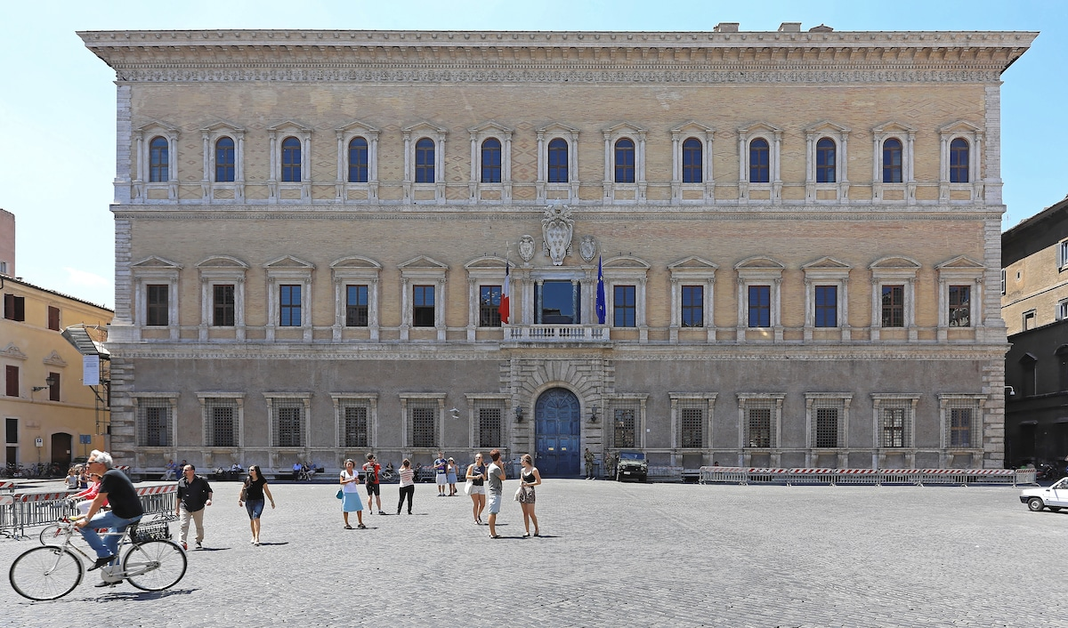 Palazzo Farnese, a famous example of Renaissance Architecture