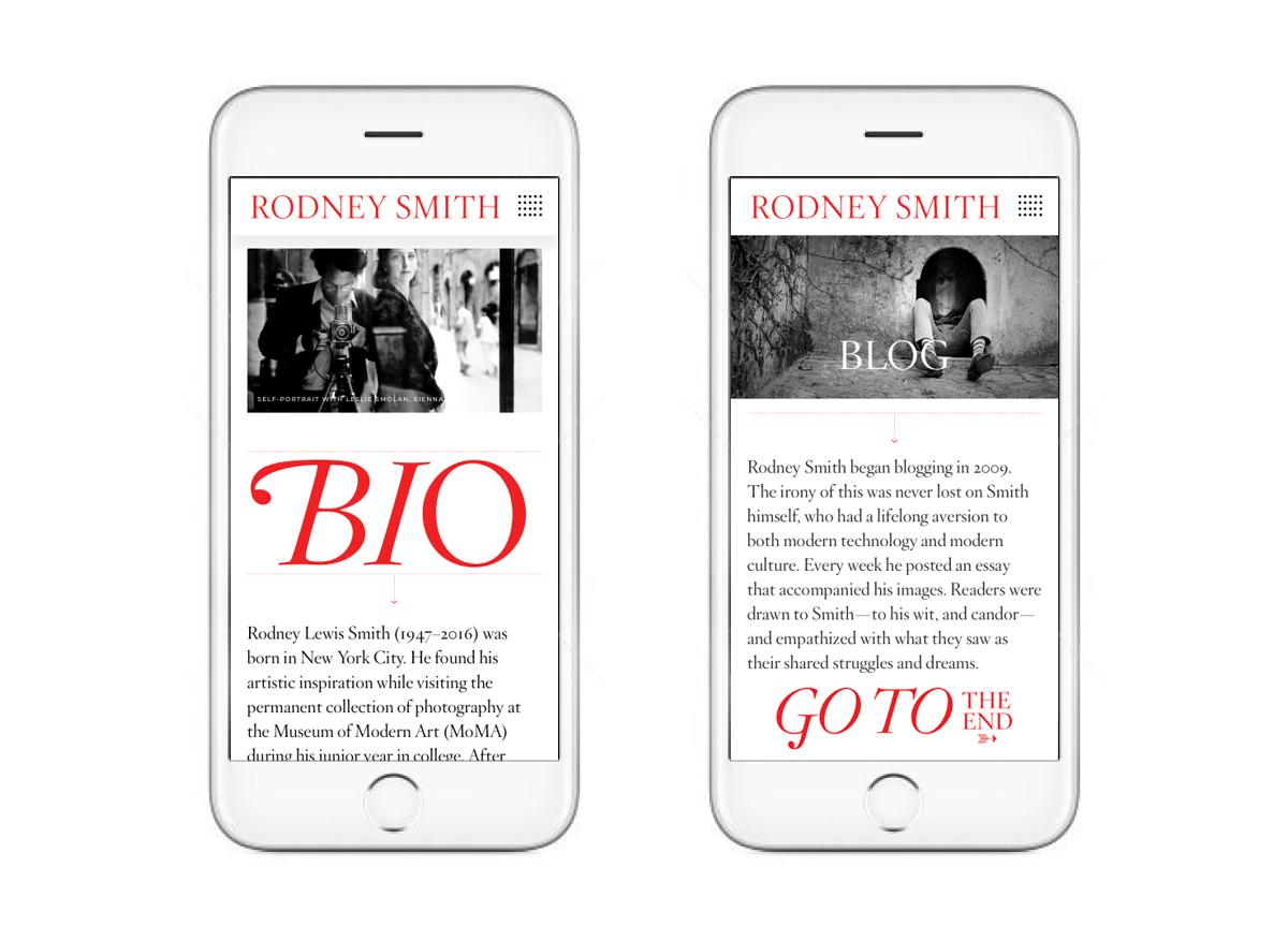 Rodney Smith Biography