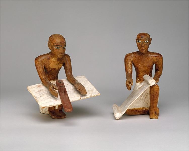 Scribes Granary Tomb Figurines