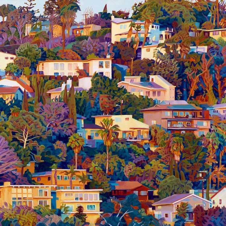 Oil Paintings of Los Angeles by Seth Armstrong