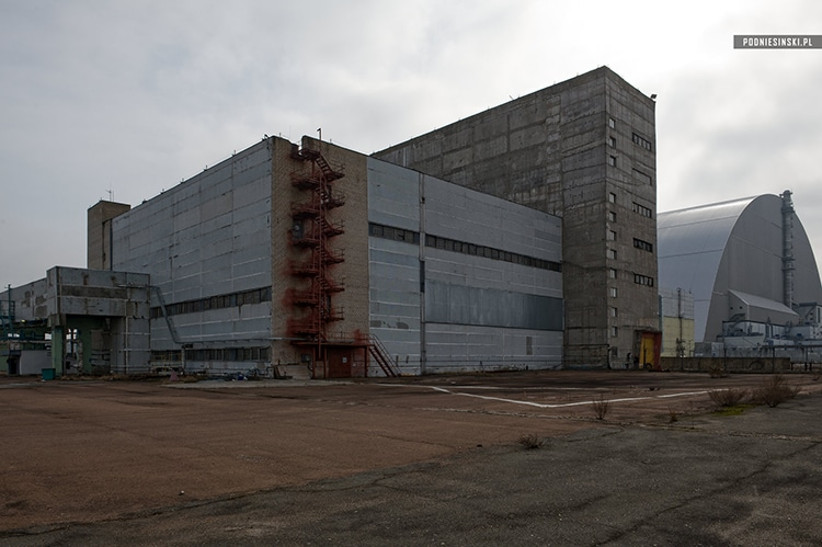 An interim facility for storing spent nuclear fuel.