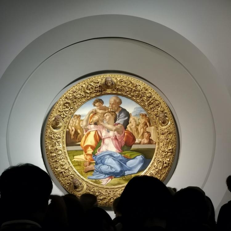 """""""Doni Tondo"""" de Miguel Ángel vendido como NFT por la Galería Uffizi Gallery"""