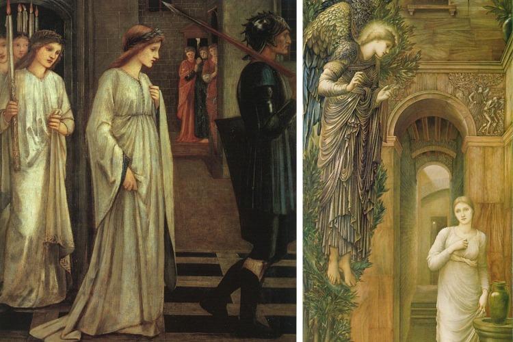 Edward Burne-Jones Préraphaélite