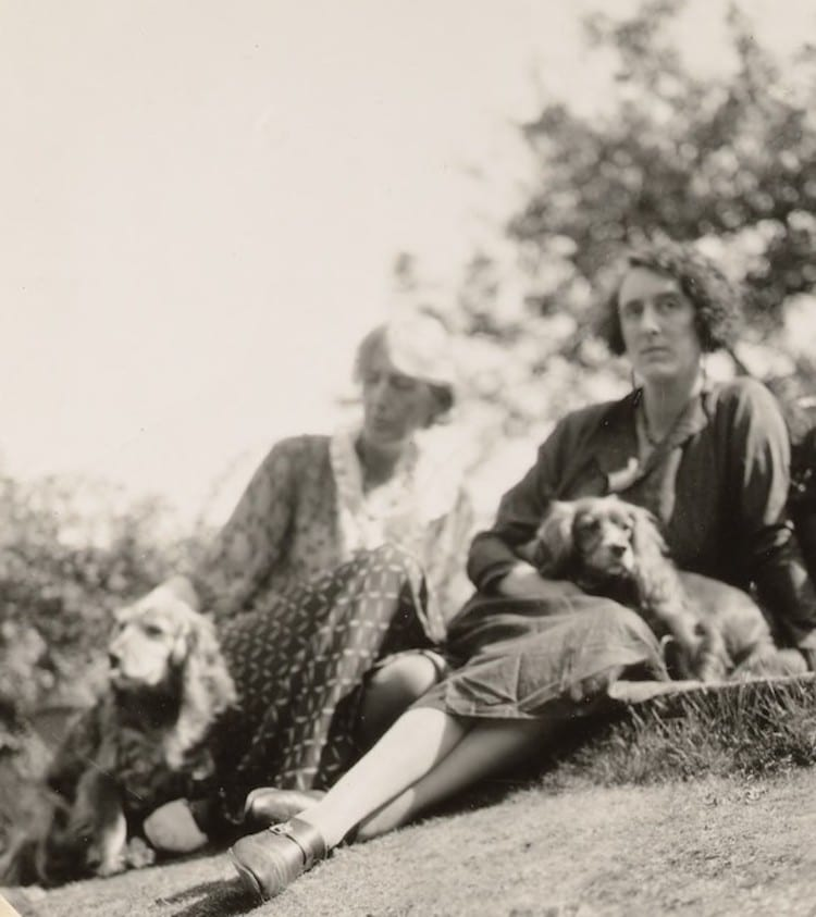 Virginia Woolf et Vita Sackville-West