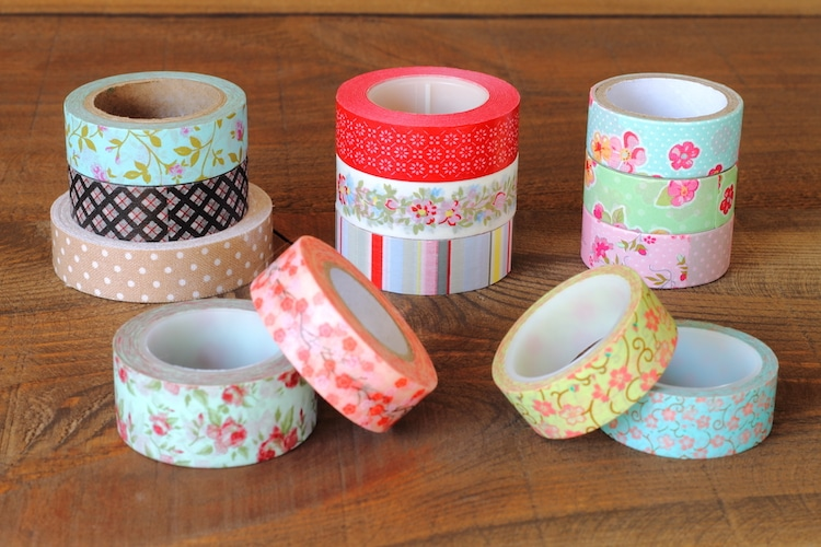 Colorful Washi Tapes