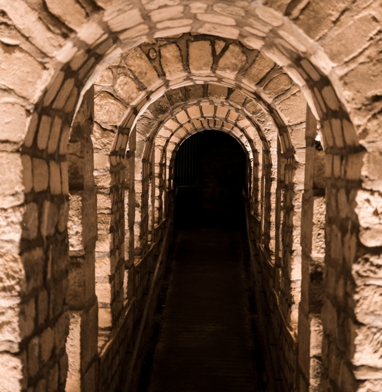 Entrée des catacombes
