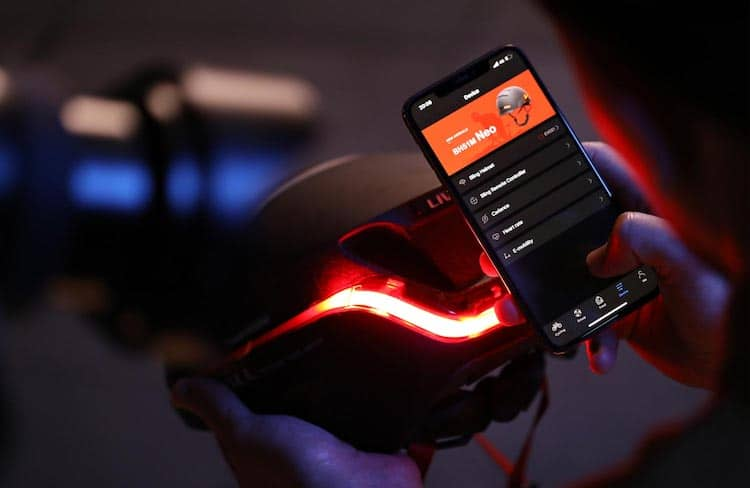 EVO21 Smart Helmet Sync