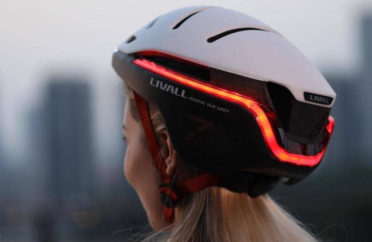 EVO21 Bike Helmet Back View