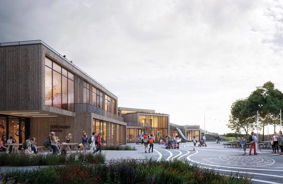 Henning Larsen's the New School