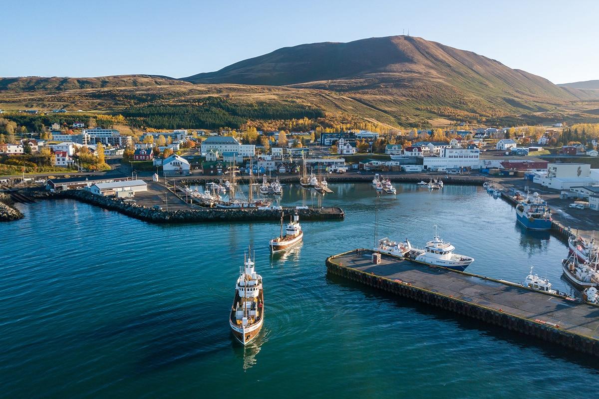 Húsavík harbour home of North Sailing © Rafnar Orri Gunnarsson