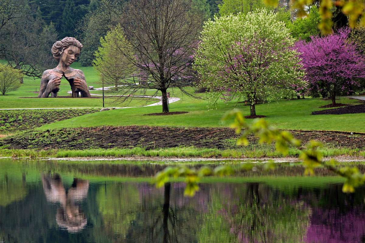 Outdoor Sculpture at the Morton Arboretum