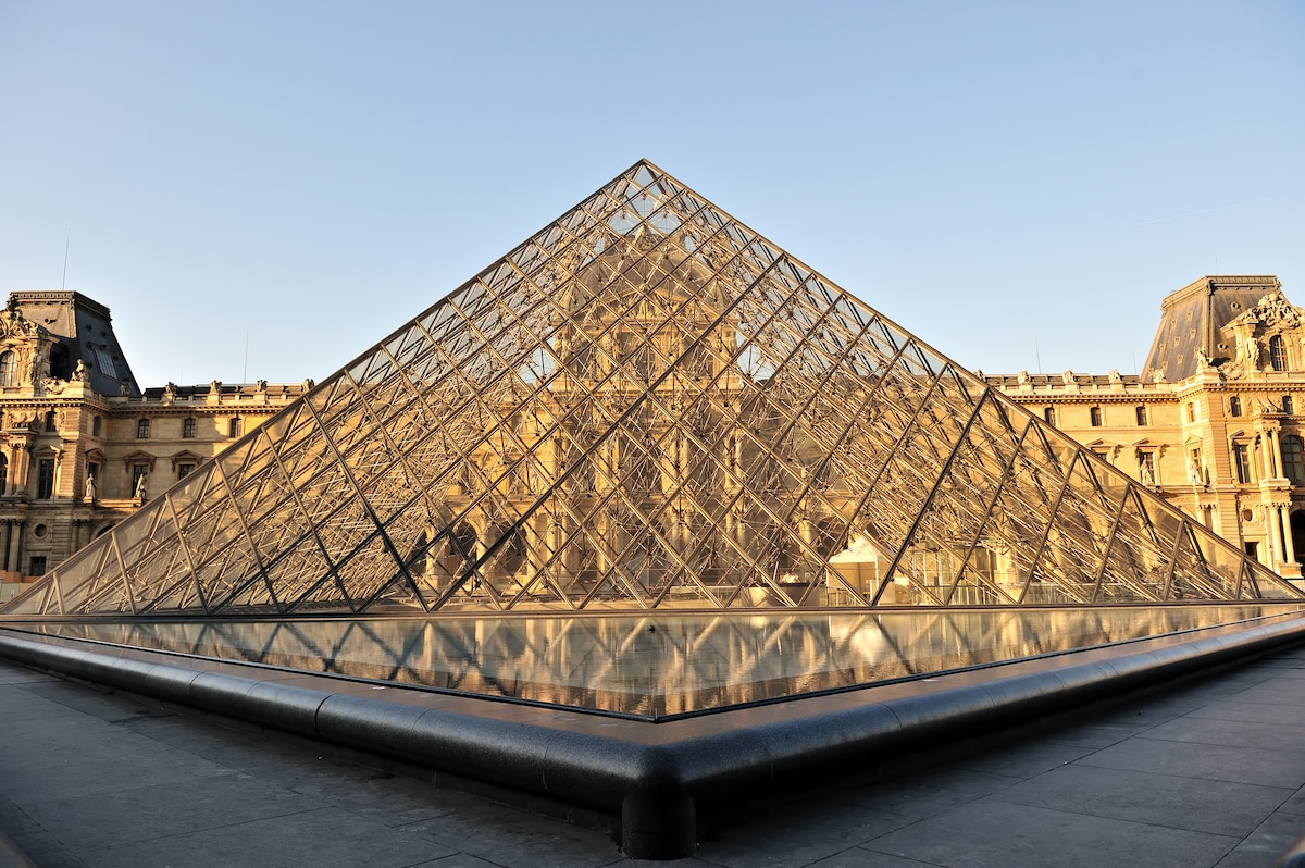 The Grand Louvre Pyramid by I.M. Pei