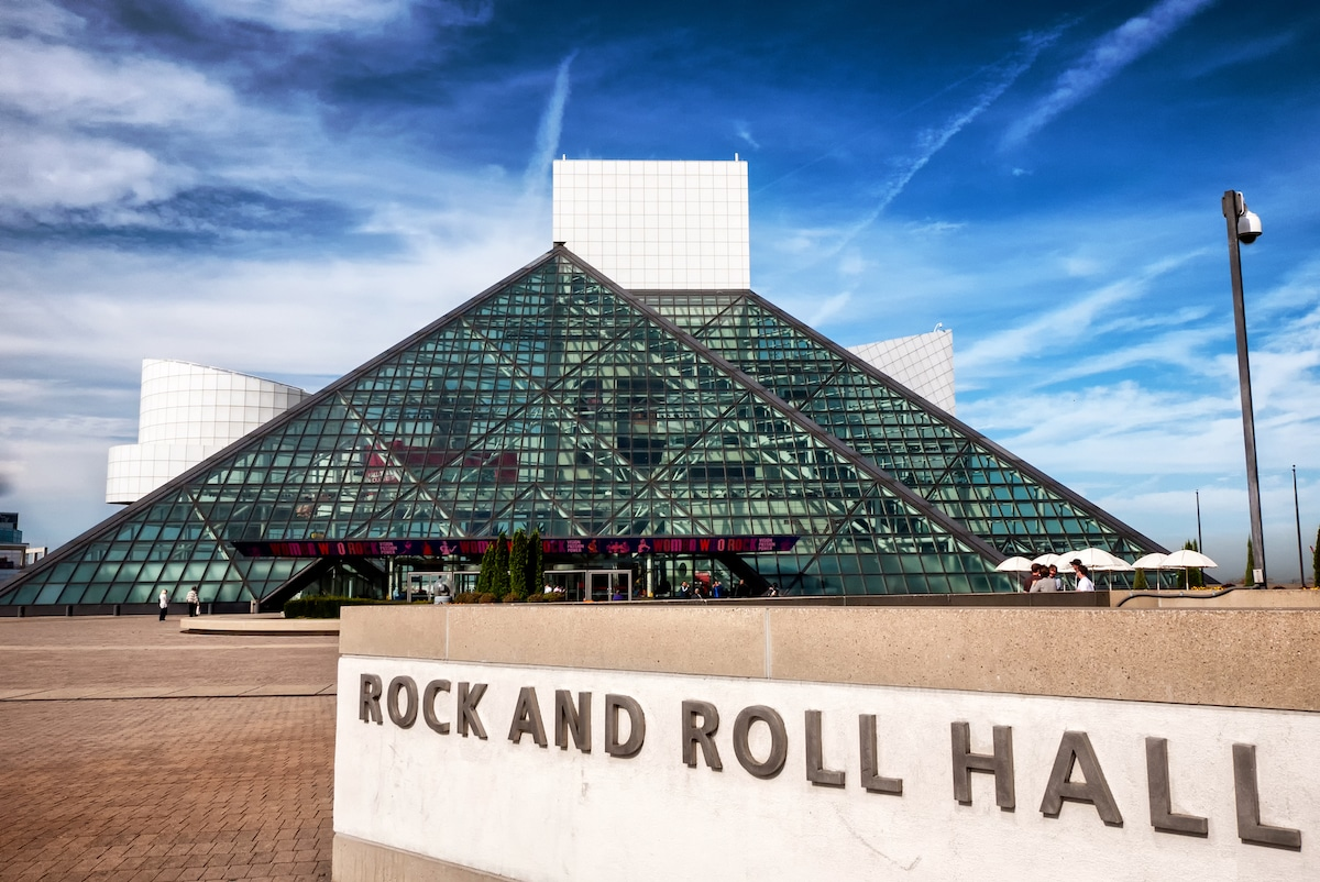 Rock & Roll Hall of Fame by I.M. Pei