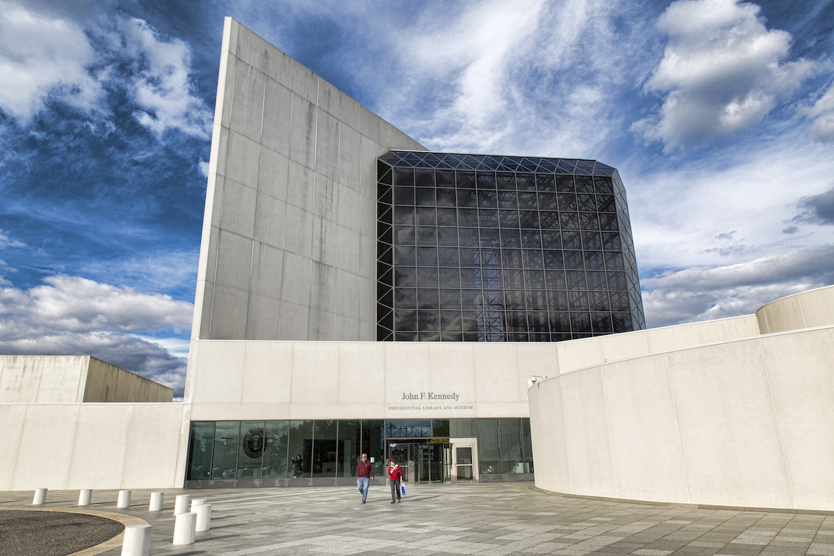 John F. Kennedy Presidential Library and Museum by I.M. Pei