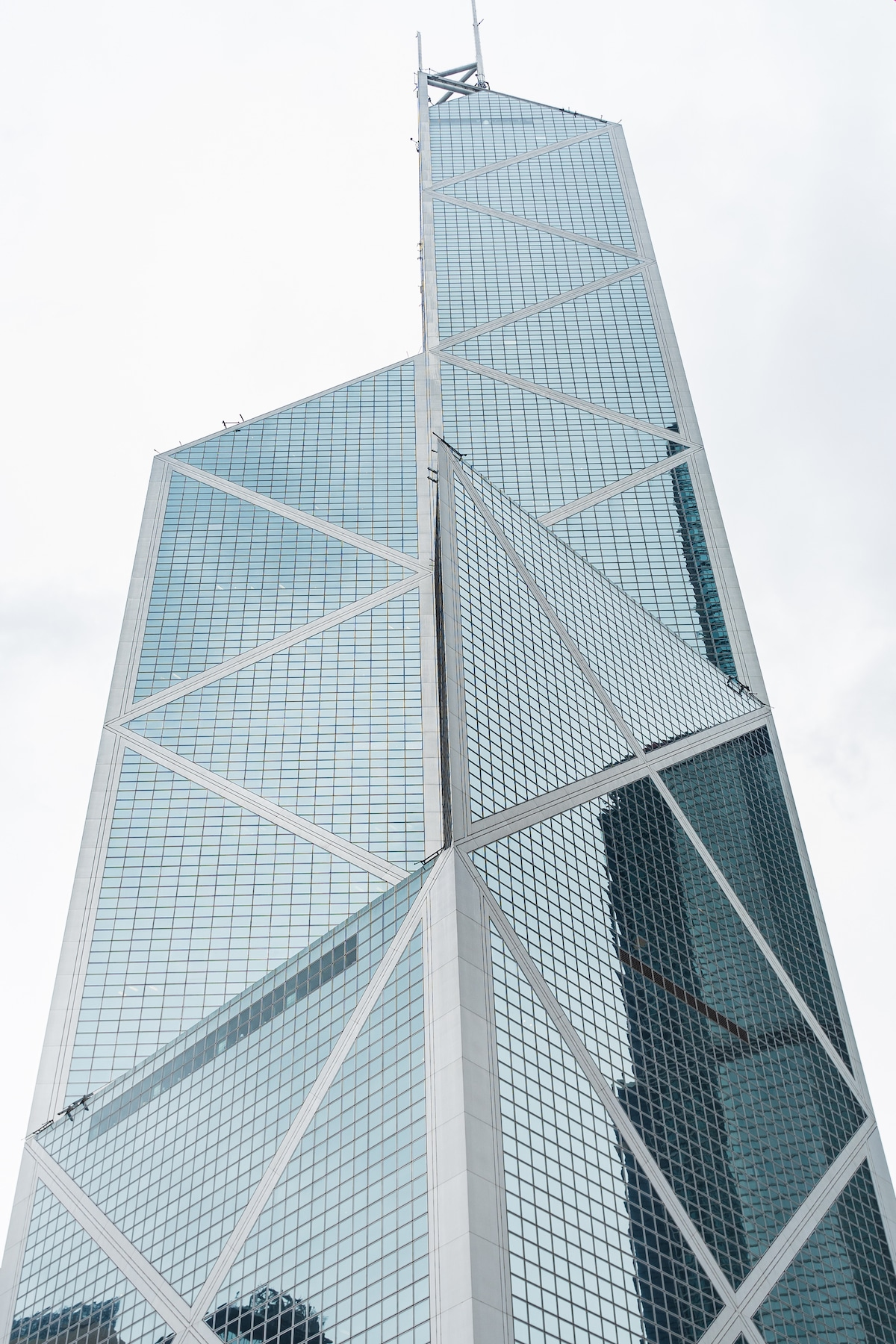 Bank of China Tower by I.M. Pei