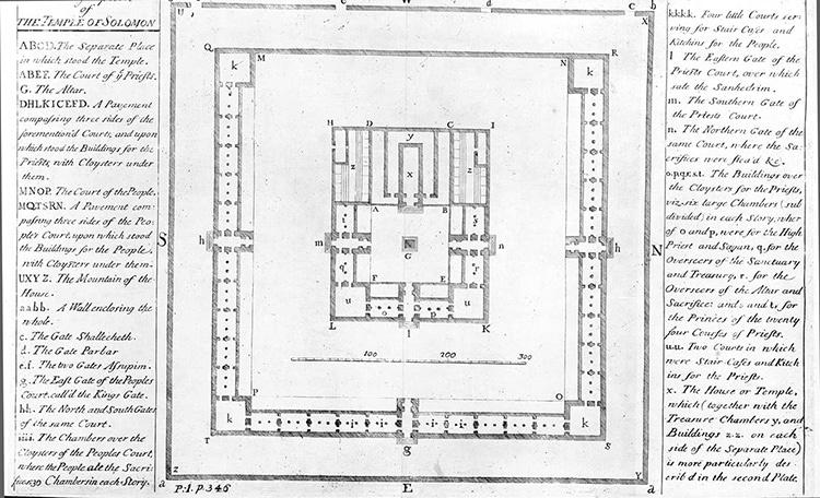 Le Temple de Salomon d'Isaac Newton