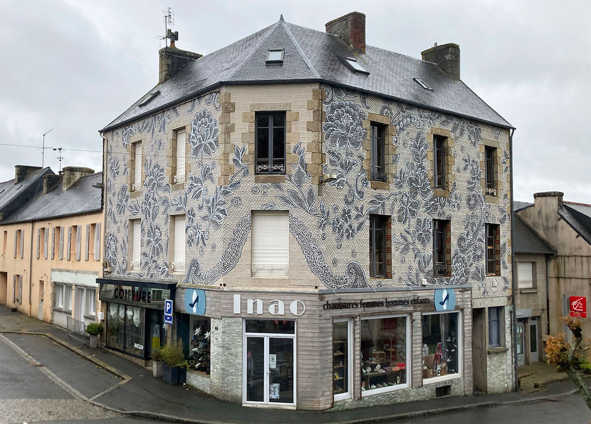 Public Art in Brittany by NeSpoon