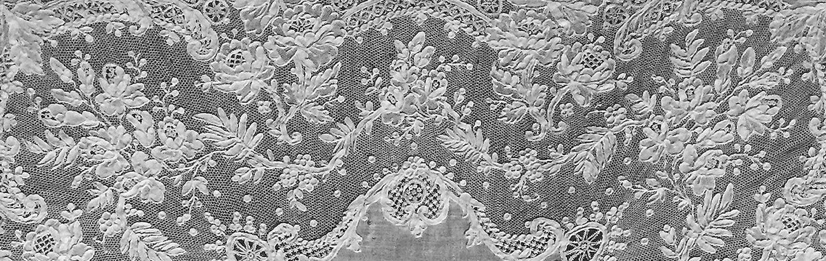 19th Century French Lace Pattern