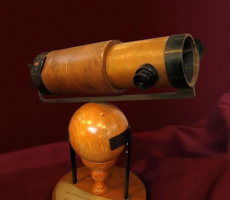 Télescope à réfraction de Newton