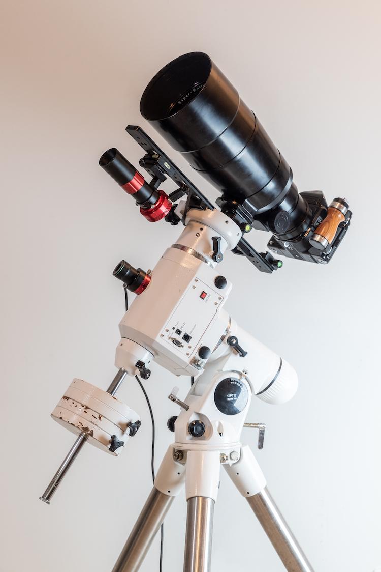 Camera Setup for Photographing a Lunar Eclipse