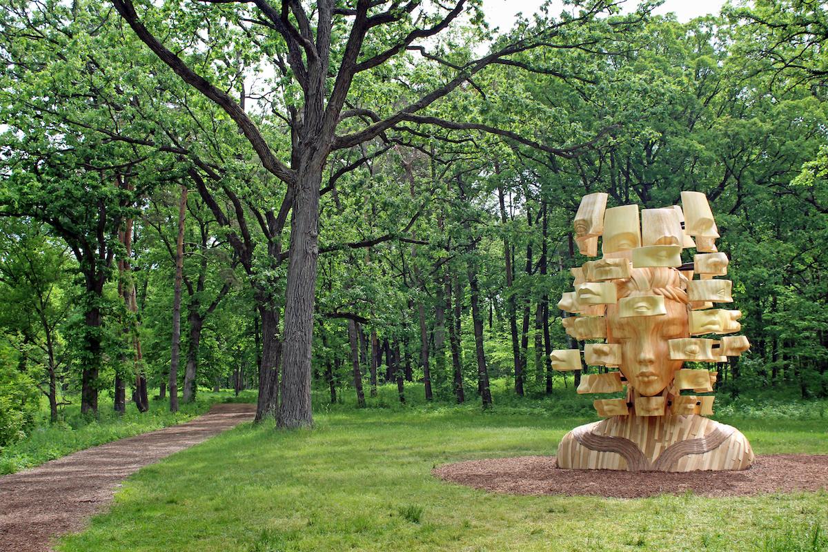 Sentient by Daniel Popper at the Morton Arboretum