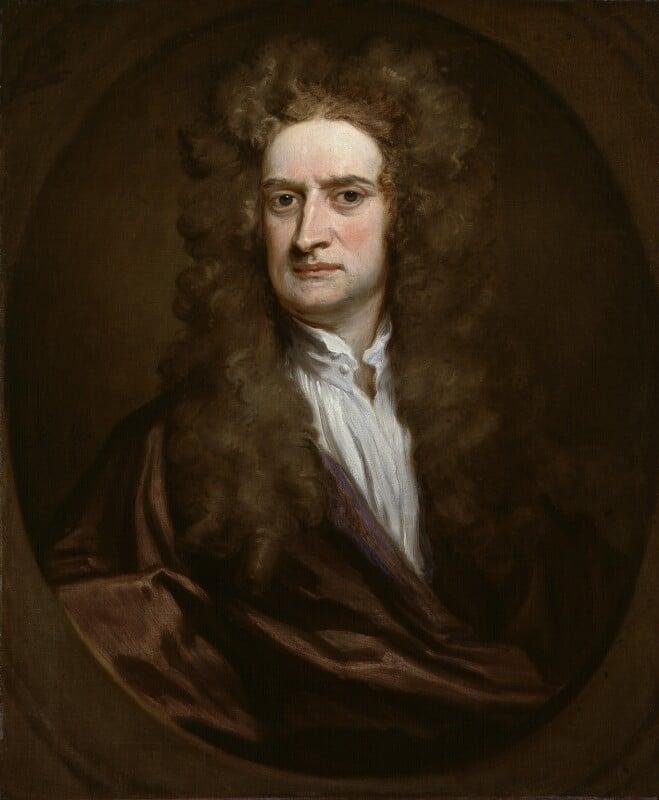 Sir Isaac Newton Scientifique