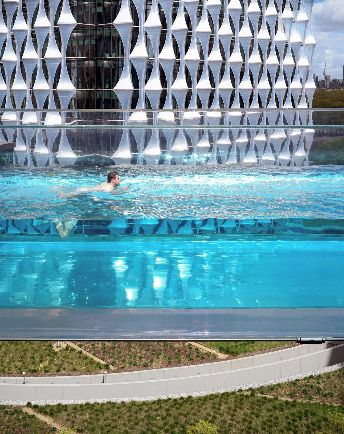 Sky Pool por Simon Kennedy