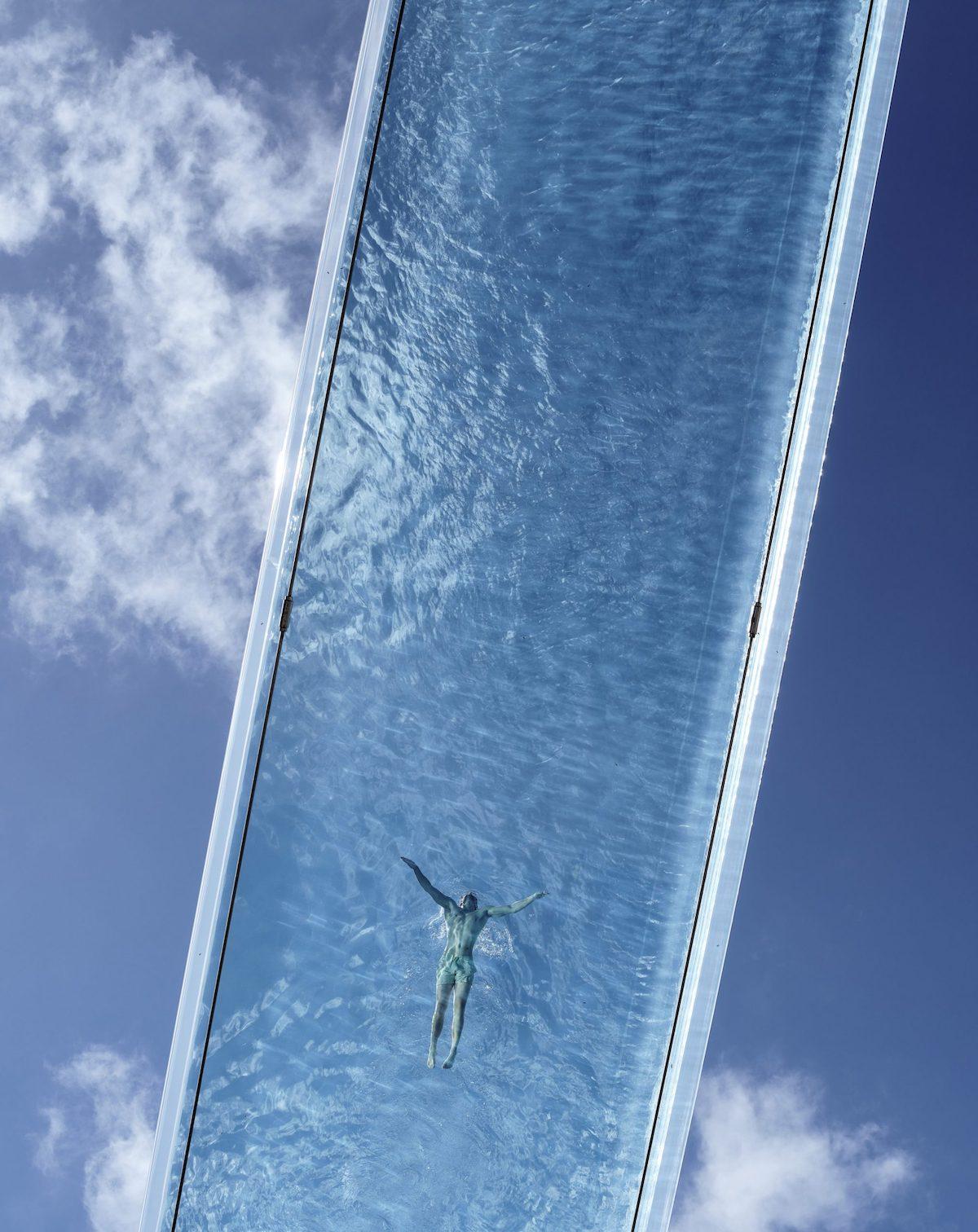 Sky Pool captured by Simon Kennedy