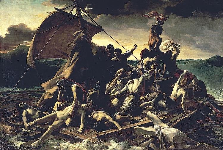 Le Radeau de la Méduse par Théodore Géricault