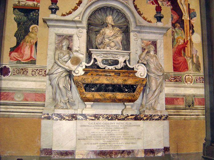 Tombeau de Galilée à Florence