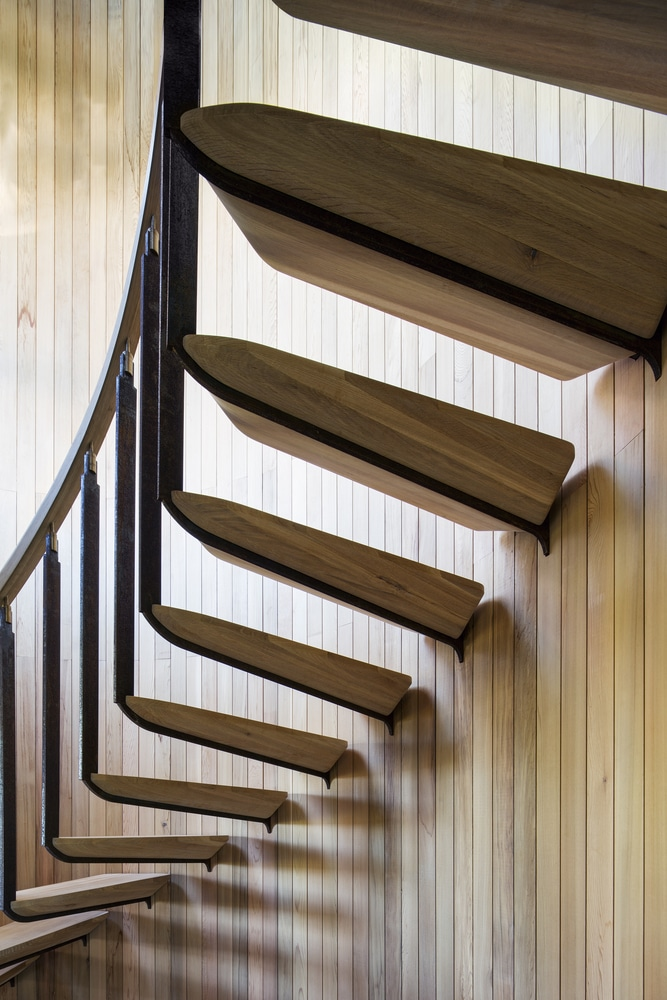 Stair in Cape Town Treehouse by Malan Vorster