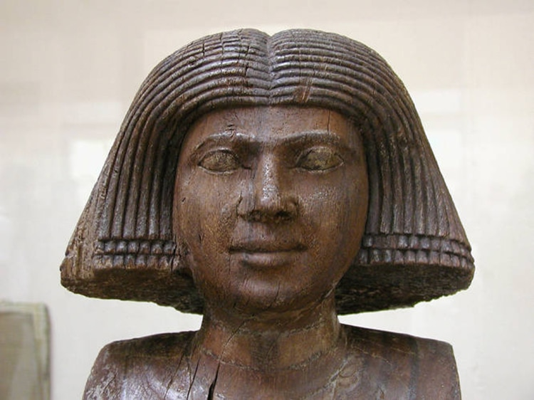 Wife of Sheik el Beled, also known as Ka'aper