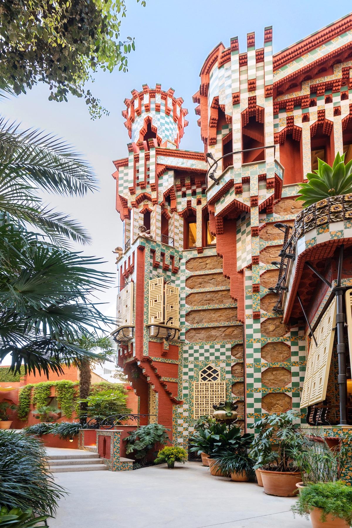 Casa Vicens by Antoni Gaudí on Airbnb
